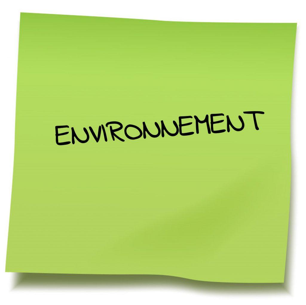 Ca c fait post it environnement